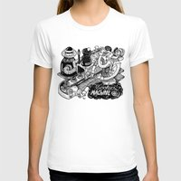 cookies T-shirts featuring Cookies Machine by MrCapdevila / Bingo