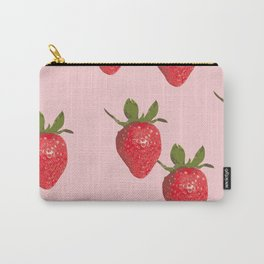 Strawberry Cream Carry-All Pouch