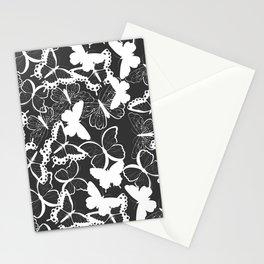Butterfly pattern 011 Stationery Cards