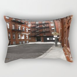 Boston North End photography Rectangular Pillow