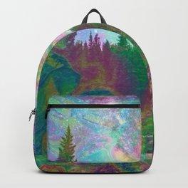 Dark Hipster Forest Backpack