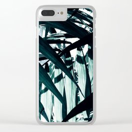 Inside of Palm Trees Clear iPhone Case