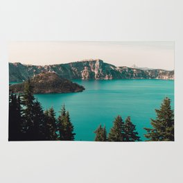 Dreamy Lake - Nature Photography Rug