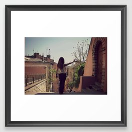 Gypsy Framed Art Print