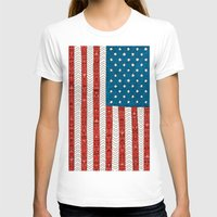 novelty T-shirts featuring USA by Bianca Green