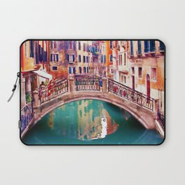 Small Bridge in Venice Laptop Sleeve