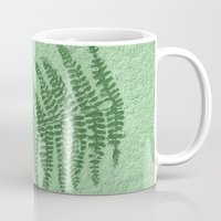 fern Mugs featuring Fern by Mr and Mrs Quirynen