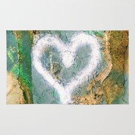 graffiti heart Rug