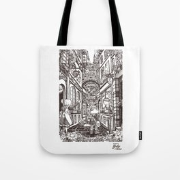 Town Motto Tote Bag