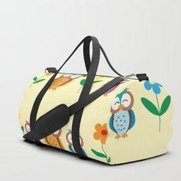 sweet owls patterns Duffle Bag