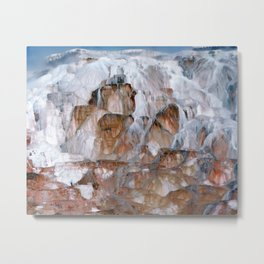 Mammoth Hot Springs Yellowstone Metal Print