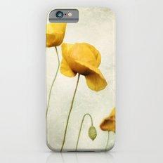 Yellow Poppies iPhone 6s Slim Case