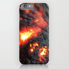 Flaming Seashell 4 iPhone 6s Slim Case