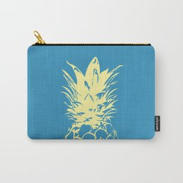 Unique Yellow Pineapple Design Carry-All Pouch