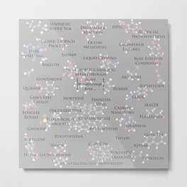 Advanced Chemistry Inspiration 01 Metal Print