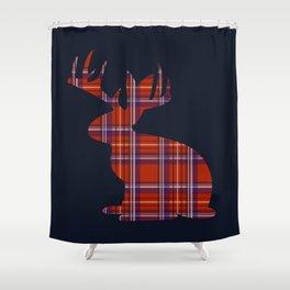 Lumberjackalope Shower Curtain