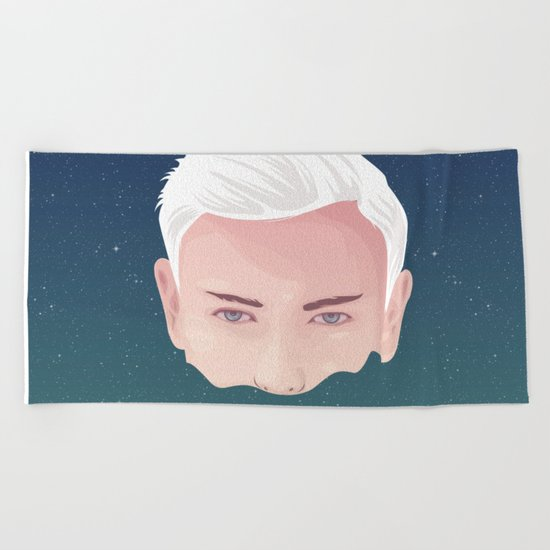 ME AND OTHER BLACKHOLES Beach Towel