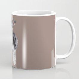 Miniature Schnauzer // dog illustration Coffee Mug
