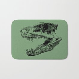 Postosuchus Skull II Bath Mat