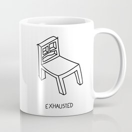 Bad Perspective Chair Coffee Mug