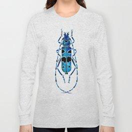 Beetle 09 blue Long Sleeve T-shirt