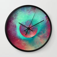 justin timberlake Wall Clocks featuring α Aurigae by Nireth