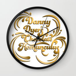 10337 Danny dyer's chocolat Wall Clock
