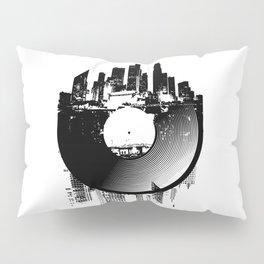 Urban Vinyl of Underground Music Pillow Sham