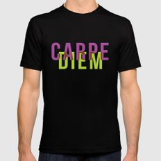 Carpe Diem MEDIUM Mens Fitted Tee Black