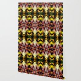 Yellow Bright Rays,Fractal Art Wallpaper