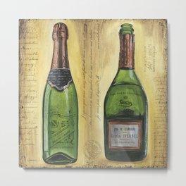 Bubbly Champagne 1 Metal Print