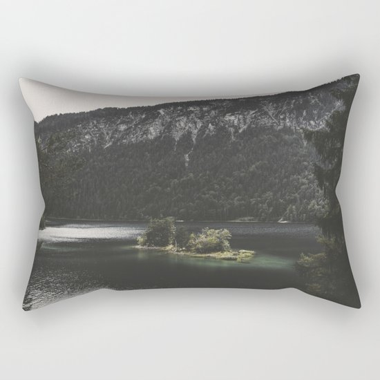 Island Love - Landscape Photography Rectangular Pillow