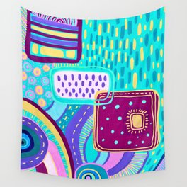 Pop Abstract Wall Tapestry