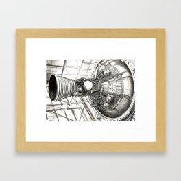 Nozzle Framed Art Print