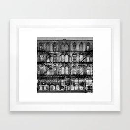 CCP Holden Building Framed Art Print