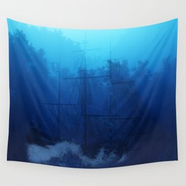 Ghost Ship Wall Tapestry