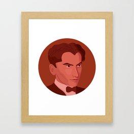 Queer Portrait - Federico García Lorca Framed Art Print