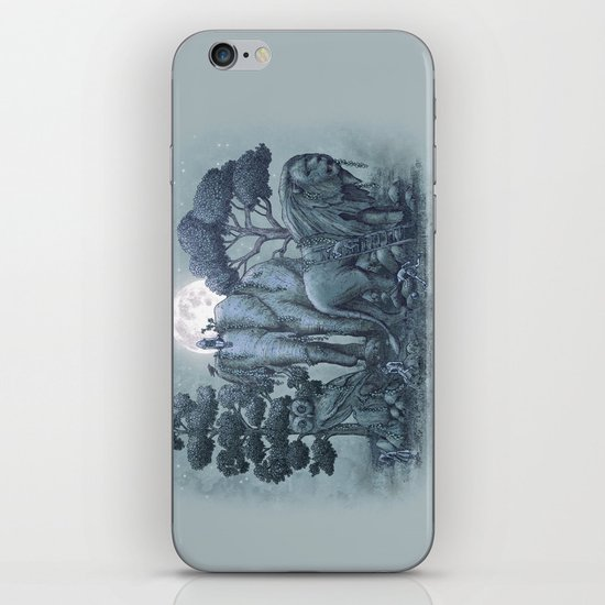 Midnight in the Stone Garden (colour option) iPhone & iPod Skin
