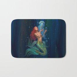 Beautiul mermaid Bath Mat