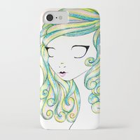 fairy iPhone & iPod Cases featuring Fairy by Caitlin Roberts