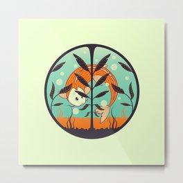 acquario Metal Print