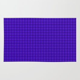The Blue and Purple Weave Rug