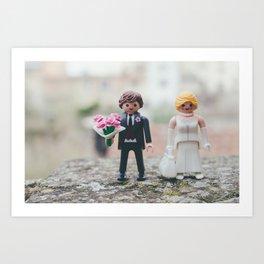 Littel wedding Art Print