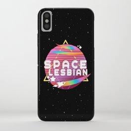 Space Lesbian iPhone Case