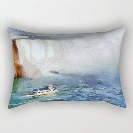 Niagara Falls - Maid of the Mist Rectangular Pillow