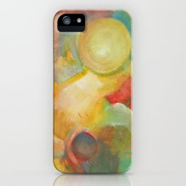 Summer Clouds iPhone Case