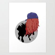 Caphair Art Print