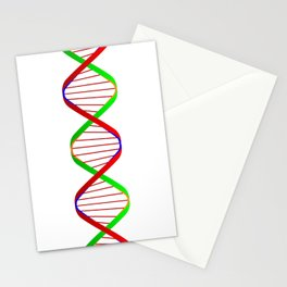 DNA Twin Spiral Stationery Cards