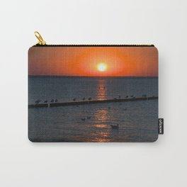 Holy sunset on the Baltic Sea Carry-All Pouch