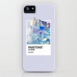 PANTONE SERIES – QUARTZ iPhone Case
